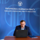 Prowadzący szkolenie dla SIP Pan Marek Gołaś Starszy Inspektor Pracy Specjalista w OIP w Rzeszowie